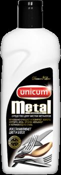 Unicum Средство чистящее для изделий из металла 380мл